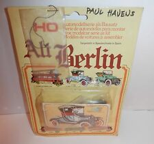Vintage Model International HO Scale Alt Berlin Ford T Lissy 1916 #111001 NOS