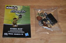 2013 Hasbro KRE-O G.I.JOE Cobra A7868 Collection 3 ATOMIC MAN Kreon Figure OOP
