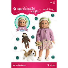 KIT! 11 STURDY STICKERS! MEET OUTFIT~GRACE! AMERICAN GIRL! SCRAPBOOKING~CRAFTS!