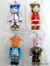 Medicom Toy Hatsune Miku Bearbrick Be@rbrick keychain Set of 4 Secret Kubrick
