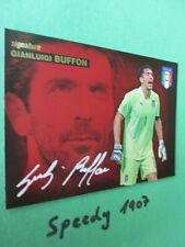Road to UEFA Euro 2016 Belgien Edition Signature Buffon  Panini Autogramm