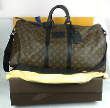100% Authentic LOUIS VUITTON  Waterproof Keepall 55 M41411 Monogram Canvas NEW