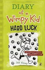 Diary of a Wimpy Kid Hard Luck Rare Signed Copy by Jeff Kinney (Hardback, 2013)