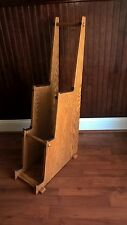 Three Tiered Guitar Stand Now 20% off any configuration. Solid Red Oak Wood.