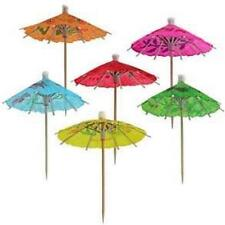 Paper Cocktail Parasol Drink Umbrellas 144pcs #7027 S-3459
