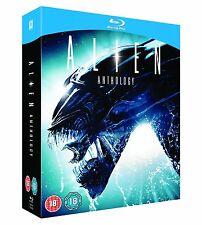 Alien Anthology (Blu-ray, 4 Discs, Region Free) *BRAND NEW/FACTORY SEALED*