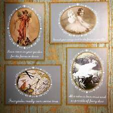 Set of 4 Fairy Inspired Postcards by Sass and Belle