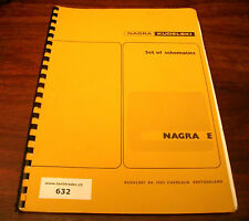 Nagra Kudelski E - Set Of Schematics - Circuits Detailed Presentation