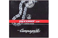 NEW 2016 Campagnolo RECORD C9 Chain Fit Chorus, Centaur: 7, 8, 9 Speed CN99-RE09