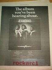 BEE GEES Children of the World 1976 Poster size ADVERT 16x12""