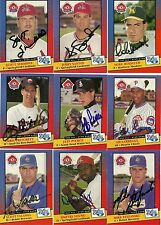 1992 Midwest League MIKE ROSSITER Signed Card MADISON MALLARDS burbank, ca