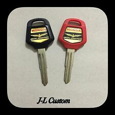 01-14 Honda GoldWing GL1800 OEM # 35121-MCA-821 Blank Key. Red or Black