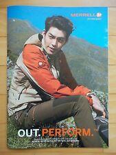 Kim Woo Bin Lee Na Young/Merrell Fashion Catalog/Spring Summer 2014/36cmX26cm