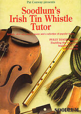 Soodlum's Irish Tin Whistle Tutor Learn to Play Pennywhistle Music Book