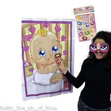 Pin el maniquí en el Baby Shower Fiesta Juego hasta 12 jugadores Niño Niña Unisex