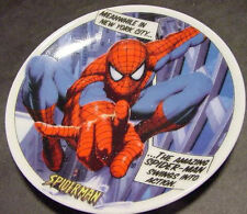 MARVEL HEROES COMICS SPIDERMAN MINI COLLECTOR PLATE porcelain UK 2005 CHARACTER