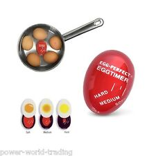 INGENIOUS COLOUR CHANGING EGG TIMER KITCHEN GADGET BOIL COOK EGGS PERFECTLY