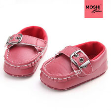 Buckle Baby Loafers Formal Wedding Christening Suit Shoes by Moshi Babies