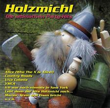 HOLZMICHL - DIE ULTIMATIVEN PARTYHITS / CD (BMG RECORDS 2004) - TOP-ZUSTAND