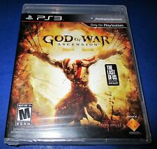 God of War: Ascension Sony PlayStation 3 -PS3-  *Factory Sealed! *Free Shipping!