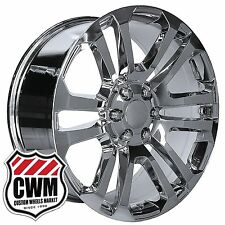 "20 inch OE Performance 158C GMC Accessory CK158 Wheels 20x9"" Chrome Rims fit GMC"