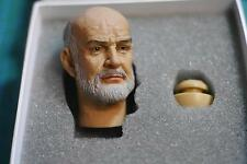 """1:6 Scale Sean Connery Head Sculpt Toys UK Actor Male Stars Fit For 12"""" Figure"""