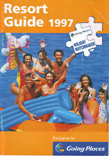 GOING PLACES RESORT GUIDE 1997/beach/lakes/cruises/short breaks/vacation/hols