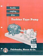 """Vintage """"WESTCO"""" Sales Brochure: TURBINE PUMP Model 6830"""