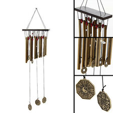 Amazing Deep Relaxing 10Tubes Windchime Chapel Bells Wind Chimes Home Decor NEW