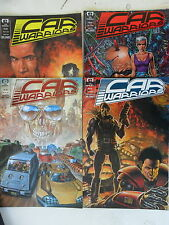 4 x Comic US - Car Warriors # 1-4 - EPIC - Z. 1-