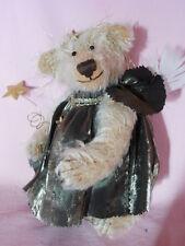 Künstlerteddy Teddybär Bär ENGEL SCHUTZENGEL  ANGEL Margareta Koch Unikat 19 cm