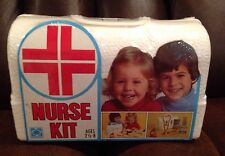 NURSE NURSE'S KIT HASBRO VINTAGE OLD NOS 1977 77 TOY PRETEND PLAY SET RARE HTF !
