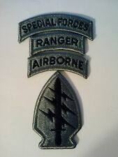 Special Forces ACU Patch, Special Forces & Ranger & Airborne Tab Made in America