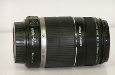 Canon EF-S 55-250 mm f/4-5.6 IS II Zoom Lens EFS 55-250mm + Manual ***MINTY***