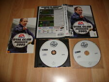 TOTAL CLUB MANAGER 2005 05 DE EA SPORTS PARA PC CON 2 DISCOS USADO COMPLETO