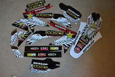 TEAM  ROCKSTAR  HONDA  GRAPHICS  CRF450  CRF450R  2005 2006 2007 2008