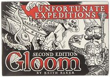 Gloom Unfortunate Expeditions 2nd Edition Card Game Expansion Atlas ATG 1354