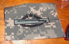 ARMY PATCH,4TH AWARD,COMBAT INFANTRY BADGE,SEW ON, ACU