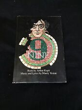 Raul Julia Tony Nominee Nine Broadway Musical Play Rare Signed Autograph Book
