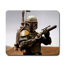 Boba Fett Star Wars Movie Gaming Gamers Laser Optical Non Slip Mouse Pad Mat