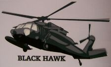 Window Bumper Sticker Military Army Helicopter UH-60 Blackhawk NEW Decal