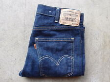 LVC Levis 1960s 605 Big E Orange Tab Denim Jeans Size 30 Selvedge 501 606 Vtg