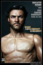 1/6 ZC Toys Accessory Emulated Muscular Figure Body Wolverine Hugh Jackman ZC03