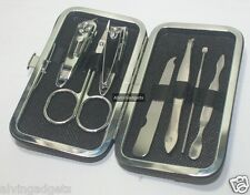 7 in 1 Pedicure Manicure Set Nail Clippers Grooming Kit Case