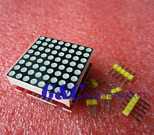 5pcs Red MAX7219 dot matrix module Arduino microcontroller module M88