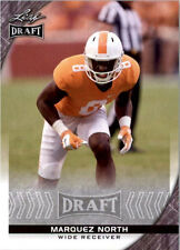 100) MARQUEZ NORTH - Tennessee Volunteers - 2016 Leaf DRAFT Football RC LOT