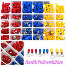 480in1 Assorted Insulated Car SUV Electrical Wire Terminal Crimp Connector Spade