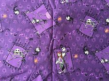 FQ DISNEY NIGHTMARE BEFORE CHRISTMAS JACK SKELLINGTON FABRIC CHARACTER FILM