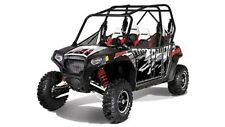 Pro Armor Graphics Kit Black LE Red White Solid Polaris RZRS RZR-S RZR S 12 2012