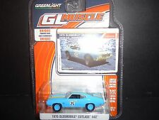 Greenlight Oldsmobile Cutlass 442 Goodyear Grabber 1970 Custom 1/64 13140
